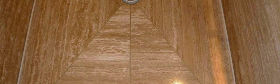 Travertine Tiled Wet Room Refresh in Glasgow