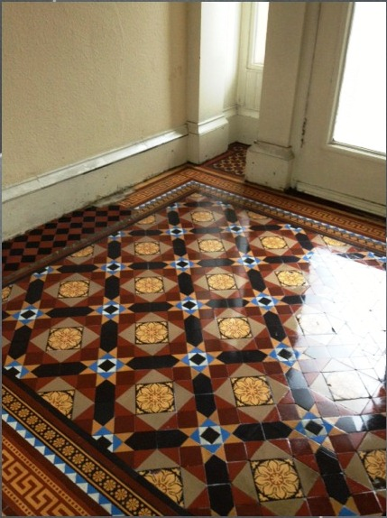 Victorian Tile Restoration In Glasgow Cleaning And Maintenance