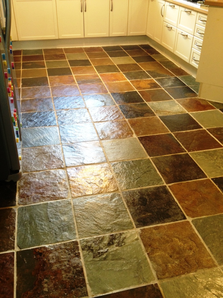 Slate Kitchen Floors Tile Restoration Stone Cleaning And Polishing Tips For Slate Floors