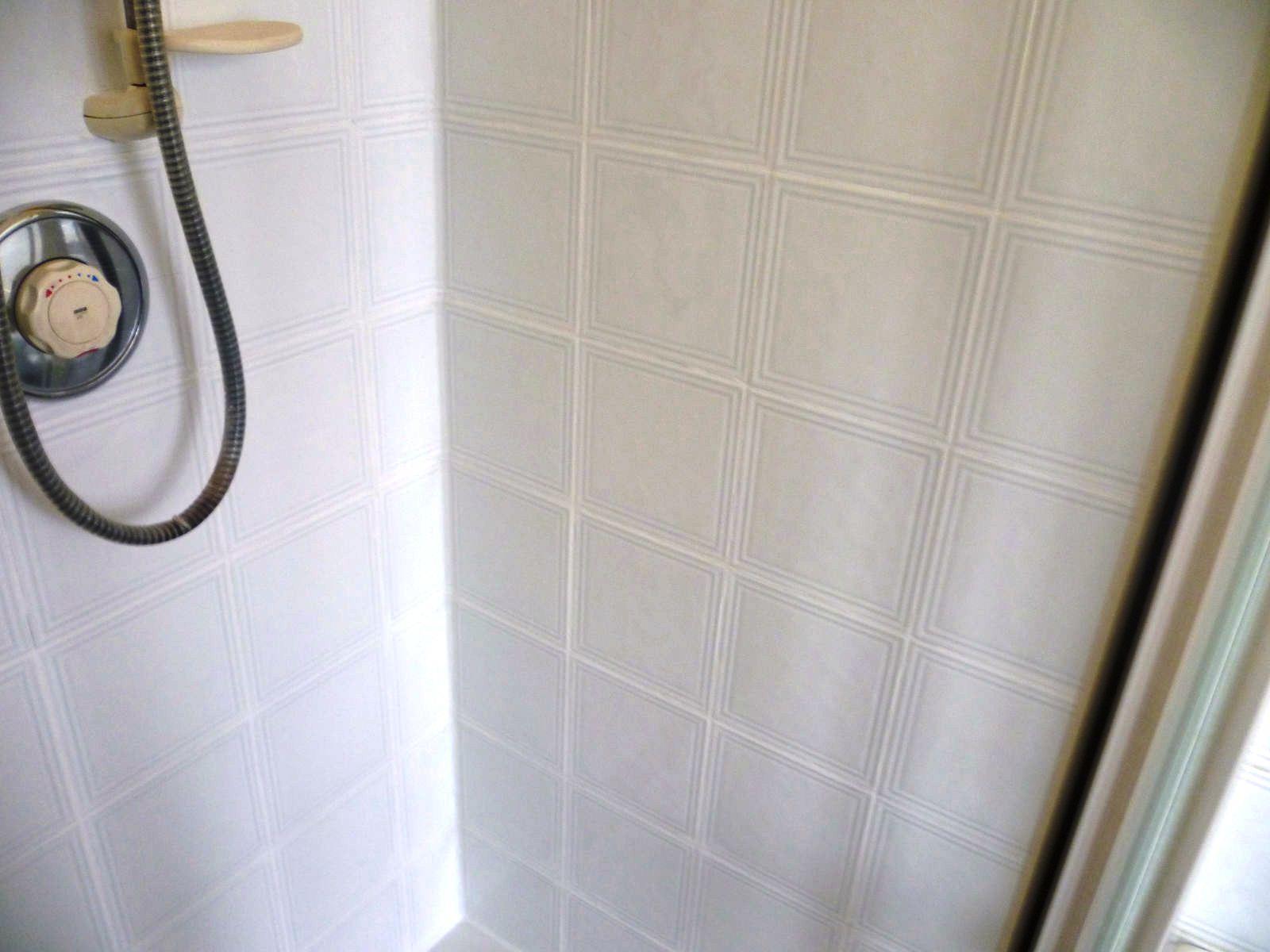 Gruby Ceramic Tiled Shower in Bishopton After