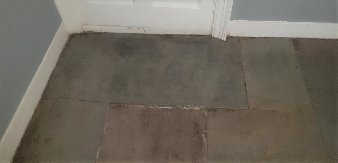 Flagstone Floor Glasgow West End After Restoration