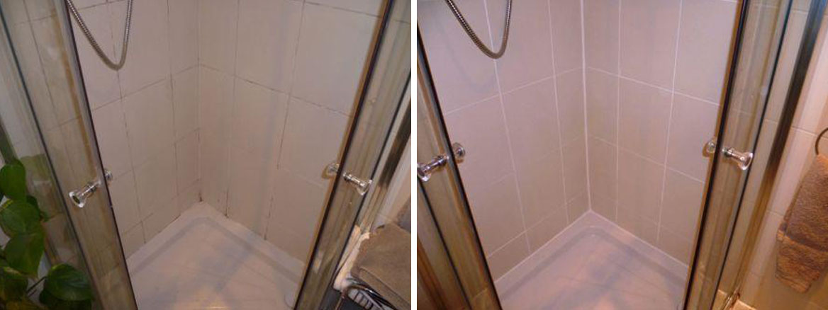 Shower Cubicle Before and After
